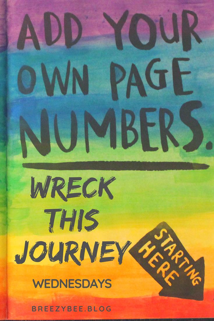 wreck this journey wednesdays